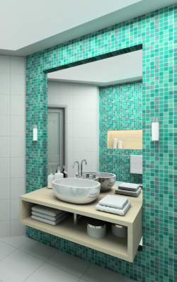 Budgetu0027s Glaziers Have Years Of Experience In Measuring, Supplying And  Installing Custom Made Bathroom Mirrors. Our Specialty Is Frameless  Polished Mirrors, ...